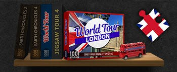 1001 Jigsaw World Tour London - image
