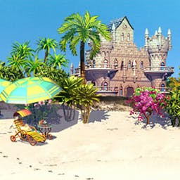 Paradise Beach 2 - New beaches in fascinating places await you in Paradise Beach 2! - logo