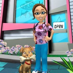 Paradise Pet Salon - Can you run a snazzy pet spa and keep all the clients happy? - logo
