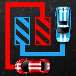 Car Park Puzzle - You won't want to escape this Car Park Puzzle! Unblock cars in this rush hour of a parking lot across over 140 levels! - logo