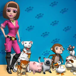 """Pet Show Craze - Help cuddly kittens and darling dogs win """"Best in Show"""" in Pet Show Craze! - logo"""
