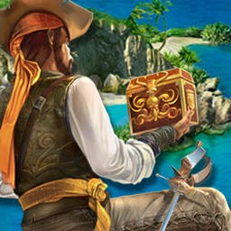 Pirate Adventures 2 - There are rumors about the cursed island and its incredible riches.  Risk everything for treasure in the hidden object game Pirate Adventures 2! - logo