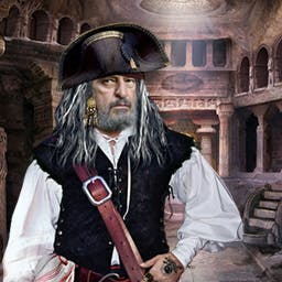 Pirate Adventures: The Enchanted Box - In this hidden object game, help Sharpshooter Jack, a pirate, solve the mystery of the enchanted box!  Play Pirate Adventures: The Enchanted Box! - logo