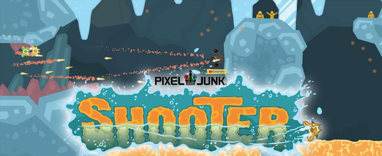 PixelJunk Shooter - Can you save the scientists?