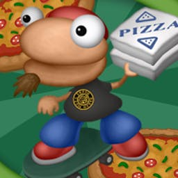 Pizza Panic - Visit Crustville and take part of this cartoon style adventure as Pizzaboy! - logo