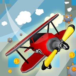 Playful Plane - Dodge missiles, avoid mines and survive electric fields in Playful Plane, an arcade game! - logo
