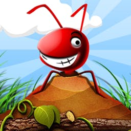 Pocket Ants - In Pocket Ants, you are King! Feeding, squishing, burning, marching, exploding, fighting, moving, and racing--the ants are yours to command. - logo