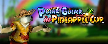 Polar Golfer Pineapple Cup - image