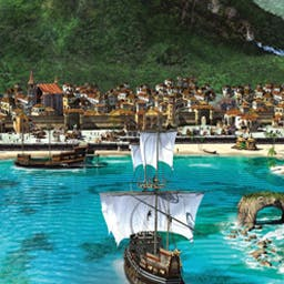 Port Royale 2 - Create a Caribbean trading empire with over 60 towns in Port Royale 2! - logo