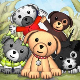 Puppy Sanctuary - Rescue puppies, decorate their surroundings, and play with them to keep them happy in Puppy Sanctuary, a match-3 game! - logo