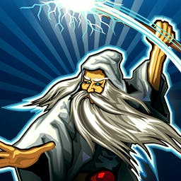 Puzzle Warriors - Puzzle Warriors takes puzzle games to the next level as Match-3 meets magic in an epic quest to defeat evil. - logo