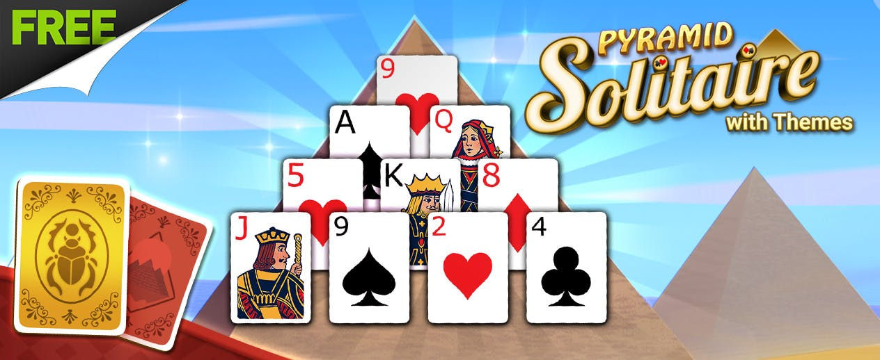 Pyramid Solitaire with Themes -  - image