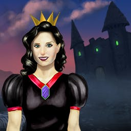 Queen's Garden 3: Halloween - Play 130 match 3 levels and make this garden fit for a Queen in Queen's Garden 3: Halloween! - logo