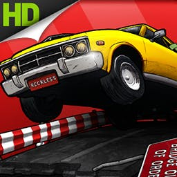 Reckless Getaway - * Editor's Pick * Robbing the bank was the easy part. Put your driving skills to the test in Reckless Getaway! Can you escape with your loot? - logo