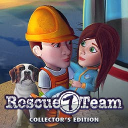 Rescue Team 7 Collector's Edition - There is no calamity too big and no animal too small to keep the Rescue Team off the scene. - logo