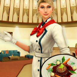 Restaurant Empire 2 - Create more than 600 delicacies from around the world in this Time Management game for foodies. Play Restaurant Empire 2 now. - logo