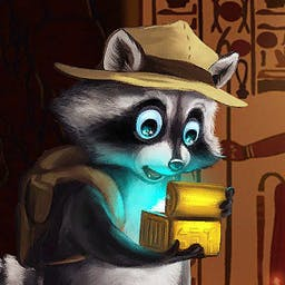 Ricky Raccoon 2: Adventures in Egypt -  - logo
