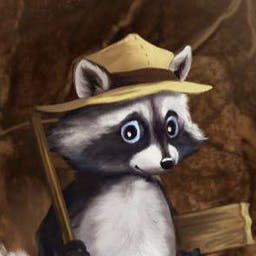 Ricky Raccoon - Your treasure hunt will take the ever-curious Ricky and yourself into the depths of the Amazon jungle. - logo