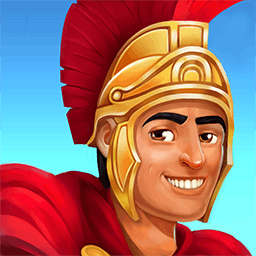 Roads of Rome: New Generation - The Roman Empire needs your help in the time management game Roads of Rome: New Generation! - logo