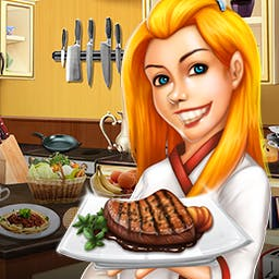 Rory's Restaurant - To help pay off her student loans, Rory starts Rory's Restaurant, a hidden object and Match 3 game! - logo