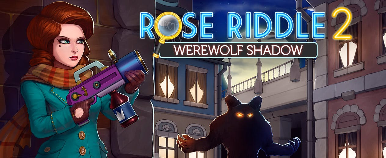 Rose Riddle 2: Werewolf Shadow - Rose Riddle is on the case! - image