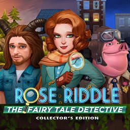 Rose Riddle: The Fairy Tale Detective Collector's Edition - Help Rose Riddle solve the mystery of her missing parents and uncover the secrets of her past. - logo