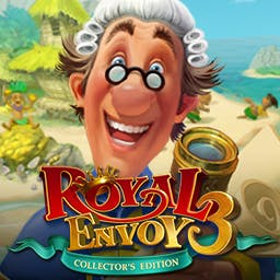Royal Envoy 3 Collector's Edition - Discover new islands and lead the expedition to develop them in the time management game Royal Envoy 3 Collector's Edition. - logo