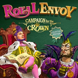 Royal Envoy: Campaign for the Crown - Collector's Edition - Keep the kingdom out of the wrong hands in the time management game Royal Envoy: Campaign for the Crown Сollector's Edition! - logo