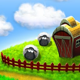 Running Sheep: Tiny Worlds - Running Sheep: Tiny Worlds is an uncomplicated yet addictive puzzle game. Lead your sheep to safety through perilous mazes! - logo