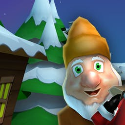 Running with Santa 2 - In the arcade game Running with Santa 2, you'll help Santa collect all the lost presents! - logo