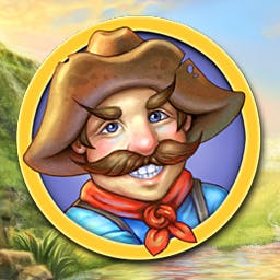 Rush For Gold: Alaska - Save your family from bankruptcy! Join other prospectors in Rush for Gold: Alaska. Guide your settlement to prosperity in this time management game. - logo