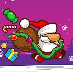 Santa Dash 2 - Will it be a merry Christmas with many presents under the tree? It's all up to you! In Santa Dash 2, THE holiday arcade game on Android; play today! - logo
