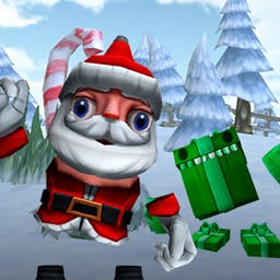 Santa's Christmas Gifts - Solve a variety of puzzles to find missing gifts and escaped reindeer in Santa's Christmas Gifts! - logo