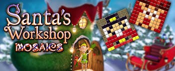 Santa's Workshop Mosaics - image