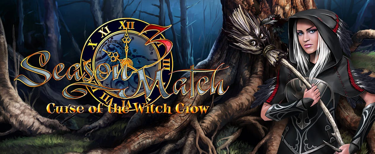 Season Match 3: Curse of the Witch Crow HD - Enter a magical fairy-tale world - image