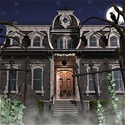 The Secret of Margrave Manor - Search Margrave Manor for items that move every time you visit a room! - logo
