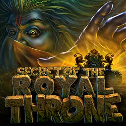 Secret of the Royal Throne - In the adventure game Secret of the Royal Throne, you'll go on a quest for ancient treasure. - logo