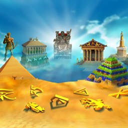 7 Wonders of the Ancient World - Embark through sands of time in 7 Wonders of the Ancient World! - logo