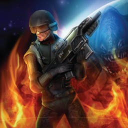 Shadowgrounds Survivor - Battle hordes of aliens with a high-tech arsenal in Shadowgrounds Survivor. - logo