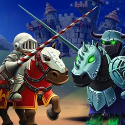 Shake Spears - Will you answer the call of destiny and become the most honored knight in the land? Shake your arcade spear, and play Shake Spears on Android today! - logo