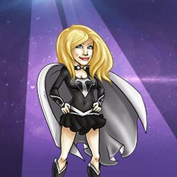 Shannon Tweed's Attack of the Groupies - The Groupies have invaded, and Shannon Tweed has had enough! Defeat cougars, bimbos and more in this time management game. - logo