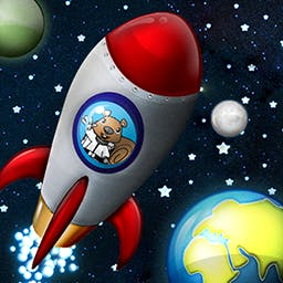 Shape Rocket HD - In Shape Rocket HD, your child will be playing the classic game of concentration while learning about shapes and colors. - logo