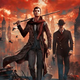 Sherlock Holmes: The Devil's Daughter - Experience a fantastic adventure with unique gameplay that blends investigation, action and exploration in a breath-taking thriller. - logo