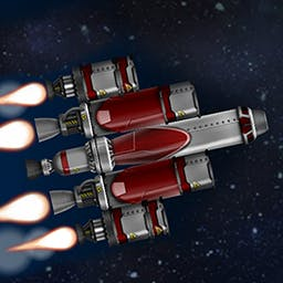 SimpleRockets - Build rockets, blast off into space, explore the solar system, and expand your mind with the space simulator SimpleRockets! - logo