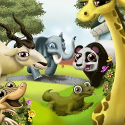 Simplz Zoo - Simplz Zoo combines fun simulation and puzzle gameplay into one game! - logo
