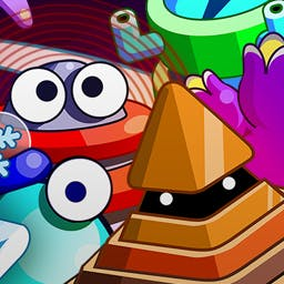 Sleep Attack - You control the battlefield in this fun twist on tower defense games. Spin the battle in Sleep Attack! - logo