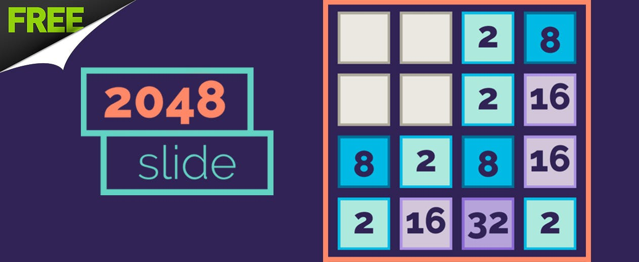 2048 Slide - Will you reach 2048? - image