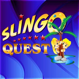Slingo Quest - Spring into the freshest edition of Slingo - Slingo Quest! - logo