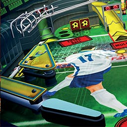 Soccer Pinball Thrills - Implemented with incredible realism, right down to realistic reflection and sound, to create a completely immersive pinball frenzy. - logo