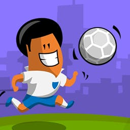 Soccer Run 2014 - Soccer Run 2014 is the ultimate football fun run! Jump, collect bonuses, earn money and stay alive in this endless runner! - logo